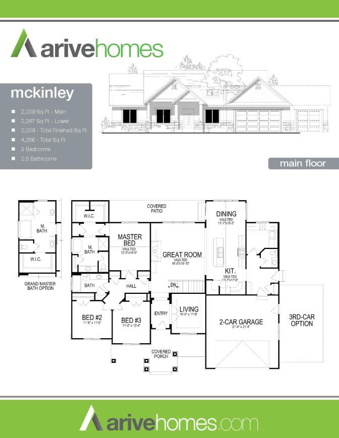McKinley Arive Homes Plan