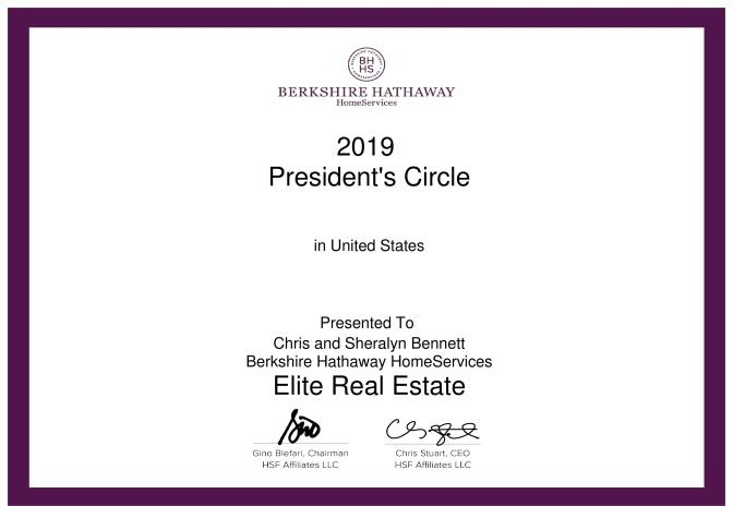 2019_President s Circle Total GCI With Preaffiliated United States - 2019 Annual_Sheralyn Bennett-page-001